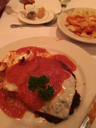 Wrentham, Μασαχουσέτη: Veal parmesan