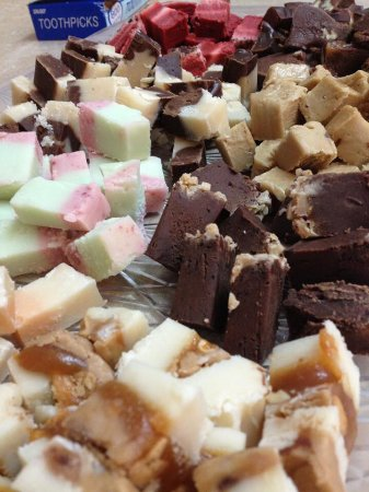 White Stone, Wirginia: Homemade fudge made at Country Cottage.
