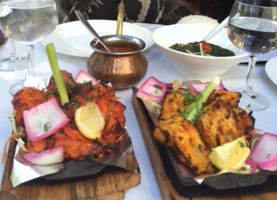 The Host: Tandoori Murgh (chicken), Sarson Fish Tikka