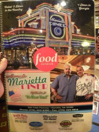 Marietta, GA: Was on Diners, Drive Ins and dives