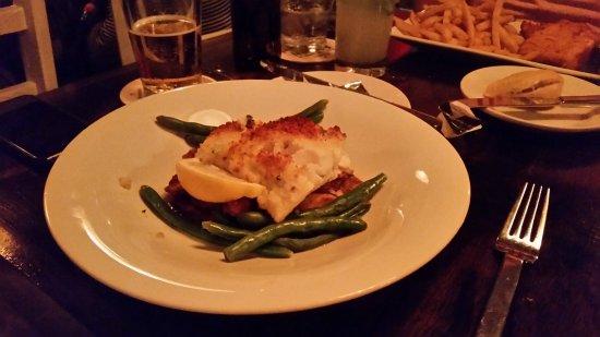 Patio American Grill: Panko Crusted Haddock