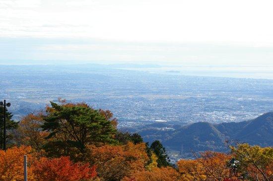 Isehara, Japón: 大山阿夫利神社下社よりの相模湾絶景