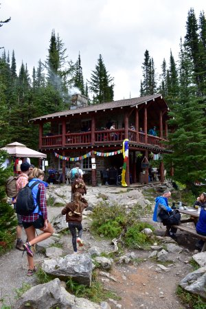 Las Rocosas Canadienses, Canadá: Plain of Six Glaciers Tea House