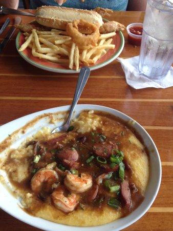 Georgetown, Güney Carolina: river room shrimp and grits