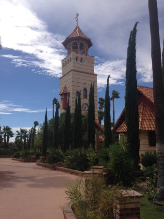 Florence, AZ: view of one of the steeples