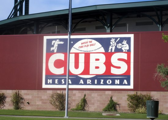 Sloan Park - Spring Training Home of the Chicago Cubs, Mesa. Az