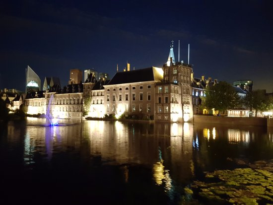 Binnenhof & Ridderzaal (Inner Court & Hall of the Knights): 內庭外觀(夜景)