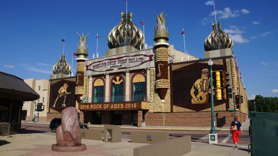 Mitchell, Dakota del Sud: The Corn Palace 2016 Rock of Ages Theme