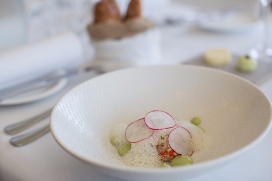 North Sydney, Australia: SNOW CRAB, avocado, granny smith and radish