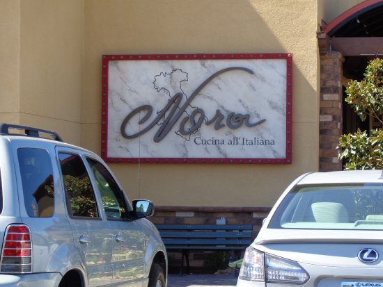 Nora's Cuisine: Front sign