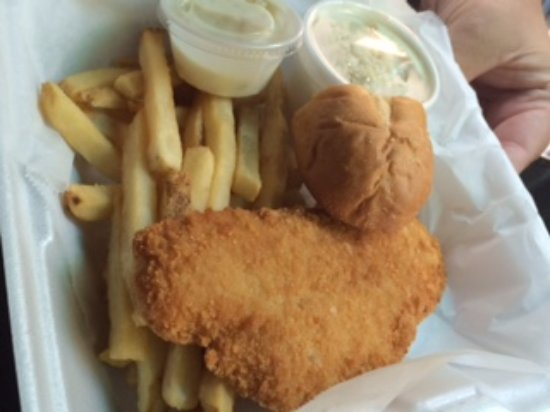 North Augusta, Carolina del Sud: Flounder Lunch $6.74.