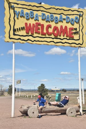 Williams, AZ: Flinstones Bedrock City