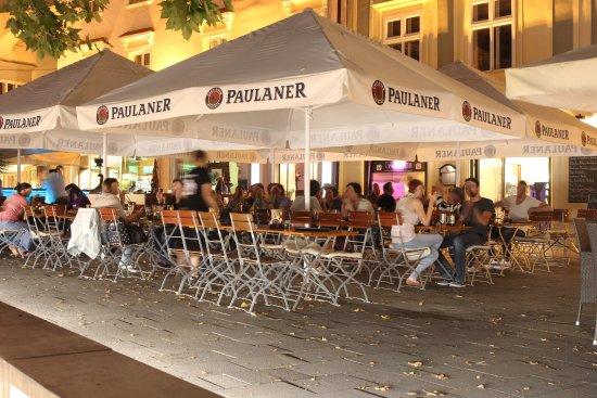 Wiener Neustadt, Austria: Biergarten