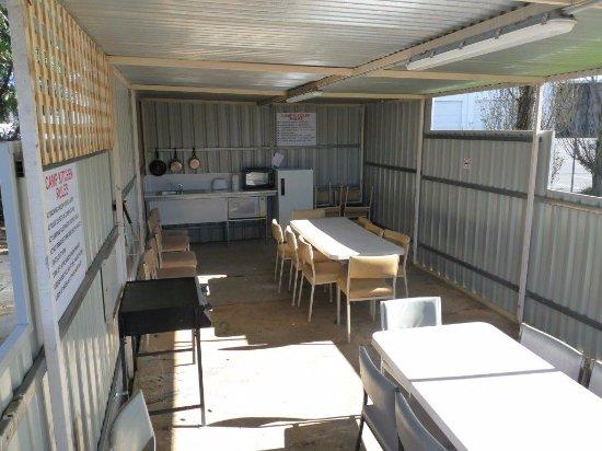 Wodonga, Australia: Camp Kitchen