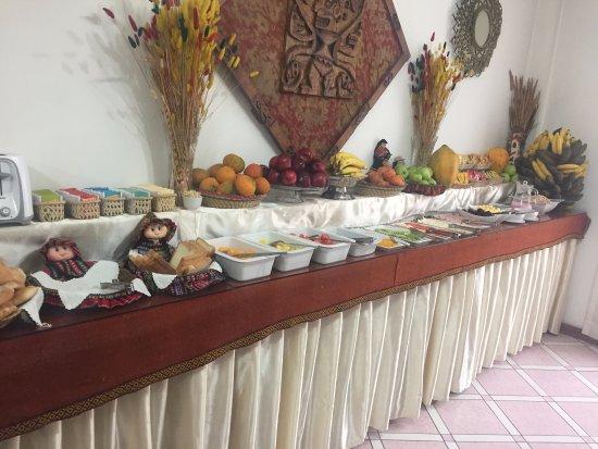 Hotel Awki's Dream: desayuno buffet