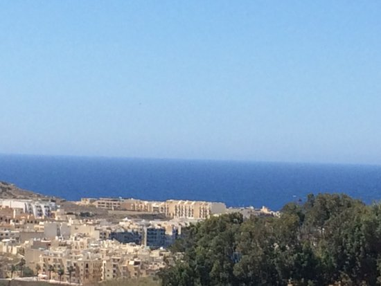 Xaghra, Malta: view from terrace