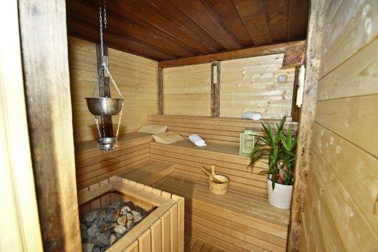 Alpin Hotel Gudrun: Sauna finnlandese