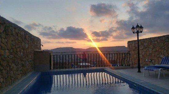 Xaghra, Malta: gorgous sunset