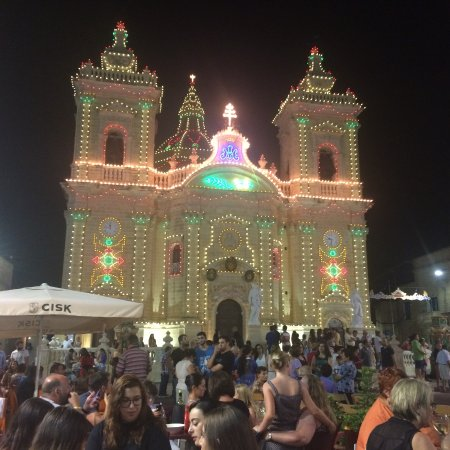 xaghra during the festival