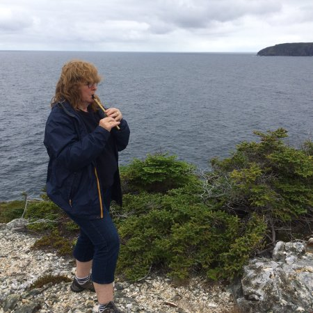 Pouch Cove, Kanada: The best day we spent in Newfoundlamd was with Janet the owner of the WAter witch