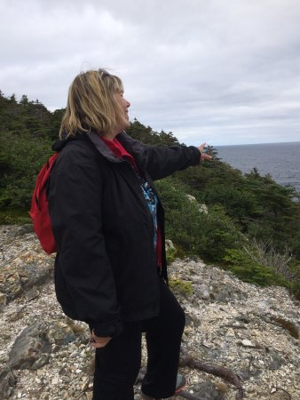 Pouch Cove, Canada: The best day we spent in Newfoundlamd was with Janet the owner of the WAter witch