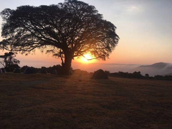 Arusha Region, Tanzania: Sunrise over the Ngorongoro crater!