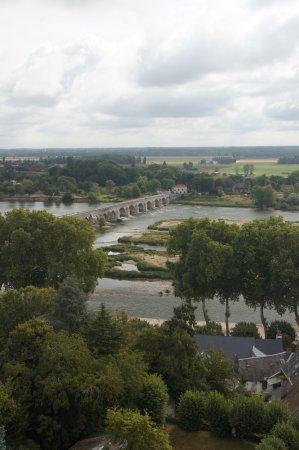 Beaugency, Prancis: uitzicht vanuit kerktoren