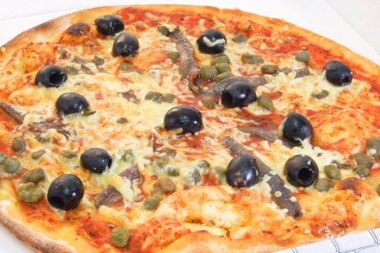 Etoy, Schweiz: Pizza