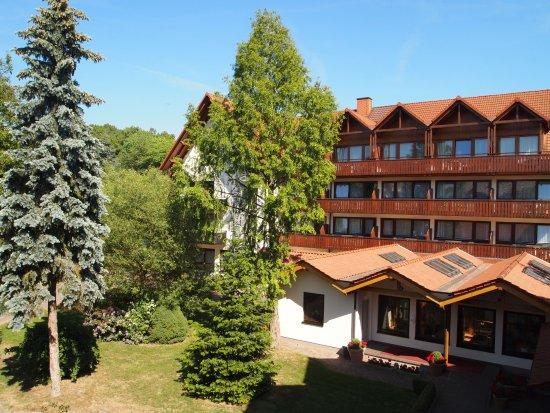 Oberaula, Deutschland: Gästehaus mit Hallenbad