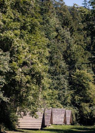 Ljubno, Słowenia: Lower part of NaturPlac