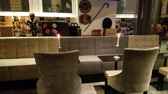 Freys Hotel Lilla Radmannen: Lounge and bar area