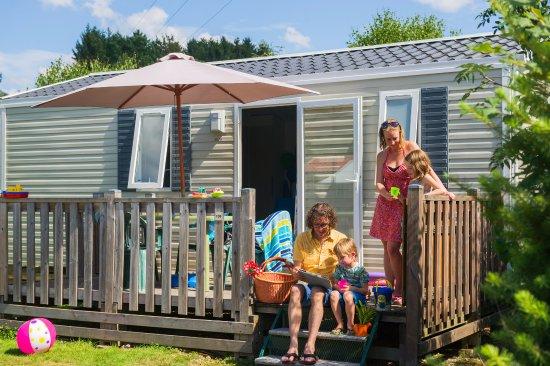 Corcieux, Γαλλία: Bungalow Bouleau Camping Sites et Paysages Au Clos de la Chaume Camping Gerardmer Vosges Alsace
