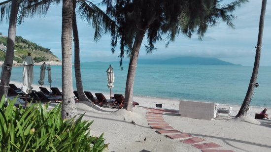 Melati Beach Resort & Spa: beach area