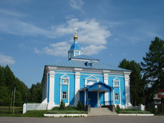 The Temple of An Icon of the Mother of God of the Sign
