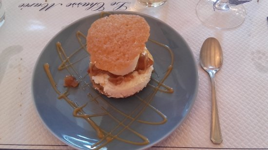 Saint-Vaast-la-Hougue, France : dessert