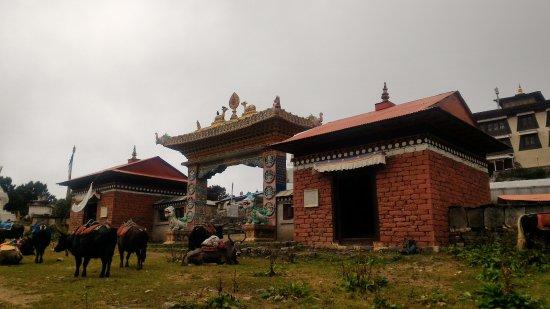 Kathmandu Valley, Nepal: Tyangboche Monastery !