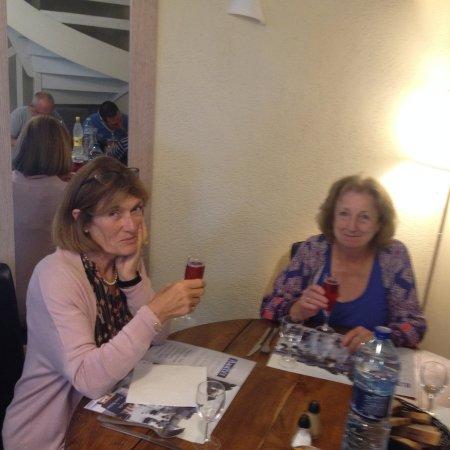 Plouer sur Rance, Prancis: Dining with an Irish visiter