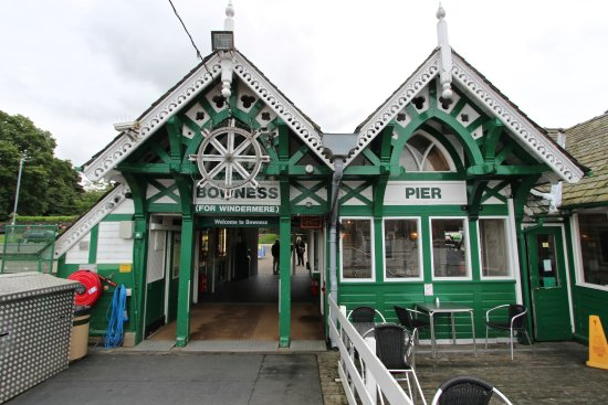 Bowness-on-Windermere, UK: Bowness Pier