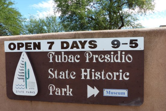 Tubac, AZ: Der Eingang