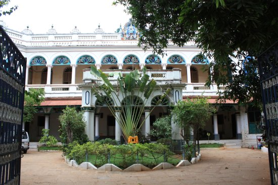 Kanadukathan, Индия: Cour de Chettinadu Mansion