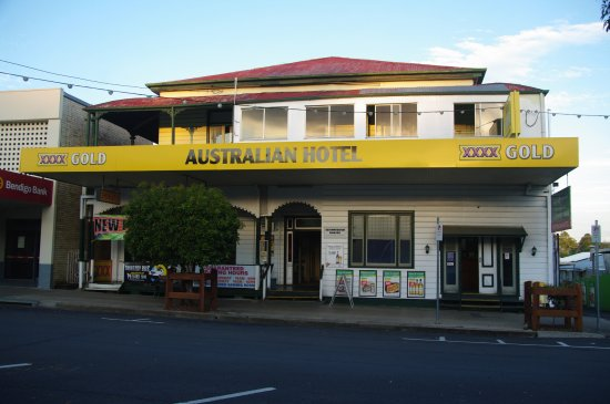 Boonah, Avustralya: Hotel from the main road