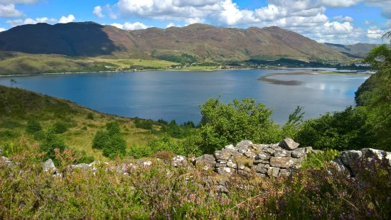 Argyll i Bute, UK: The view from a long-desserted 2000 year old Broch