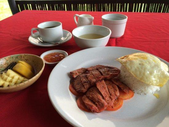 Antanue Spiritual Resort & Spa : ある日の朝食