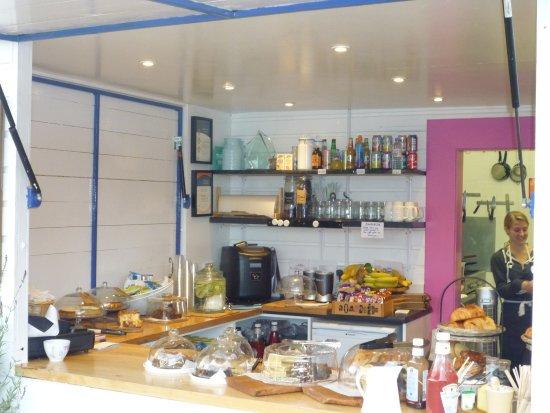 Dunbar, UK: The cafe