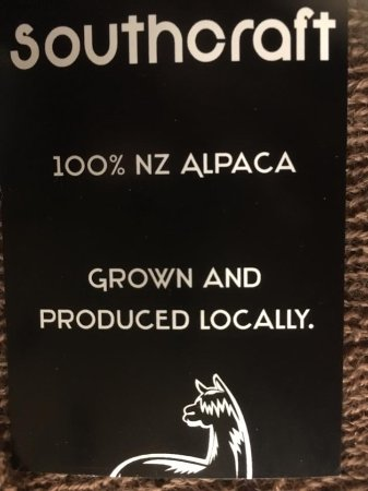 Geraldine, Νέα Ζηλανδία: Pop in and see our other extensive ranges of Alpaca