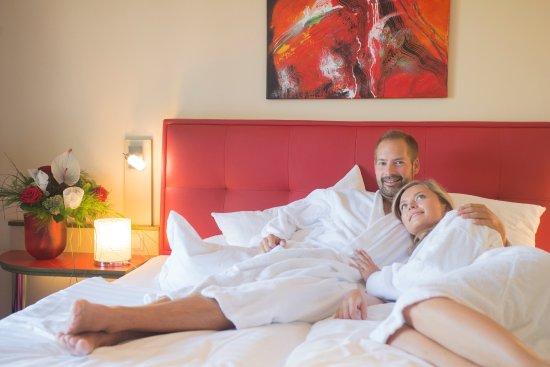 Thermenhotel Emmaquelle: Loggia-Zimmer in modernem Design