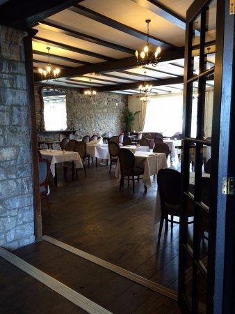 Axbridge, UK: Dining room