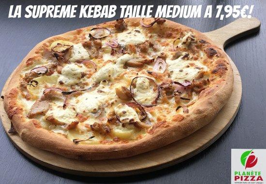 Stains, Francja: Promo à ne pas louper! La Suprême Kebab, taille médium à 7,95€ pour son lancement.