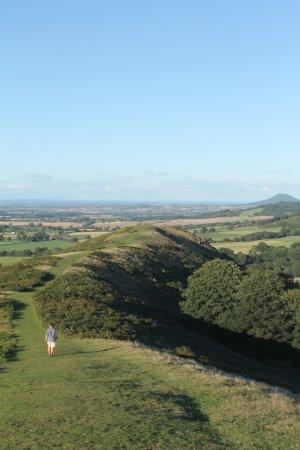 Craven Arms, UK: Laweley, easy ridge walk