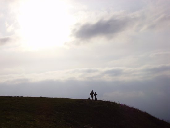 Craven Arms, UK: Brown Clee, highest point in the Shropshire Hills